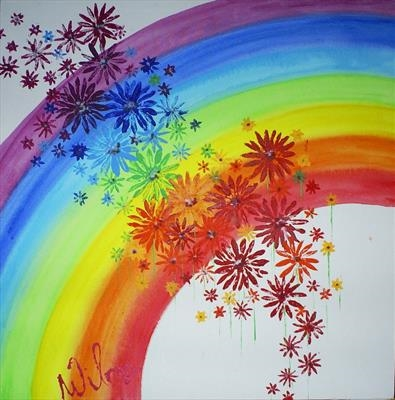 Rainbow Flower Series 1