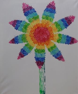 Rainbow Flower Series 2