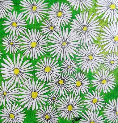 Bouquet Daisies White
