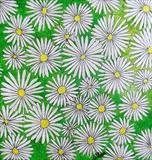 Bouquet Daisies White by Wilma Seston, Painting, Acrylic and Ink on canvas
