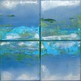 Seascape 1 by Wilma, Painting, Acrylic and Ink on canvas