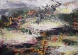 Misty Morning by Wilma Seston, Painting, Acrylic on canvas