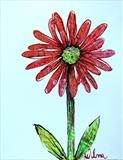 Summer Daisy by Wilma Seston, Painting, Mixed Media